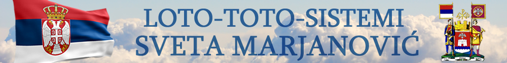 Loto Toto Sistemi Sveta Marjanovic